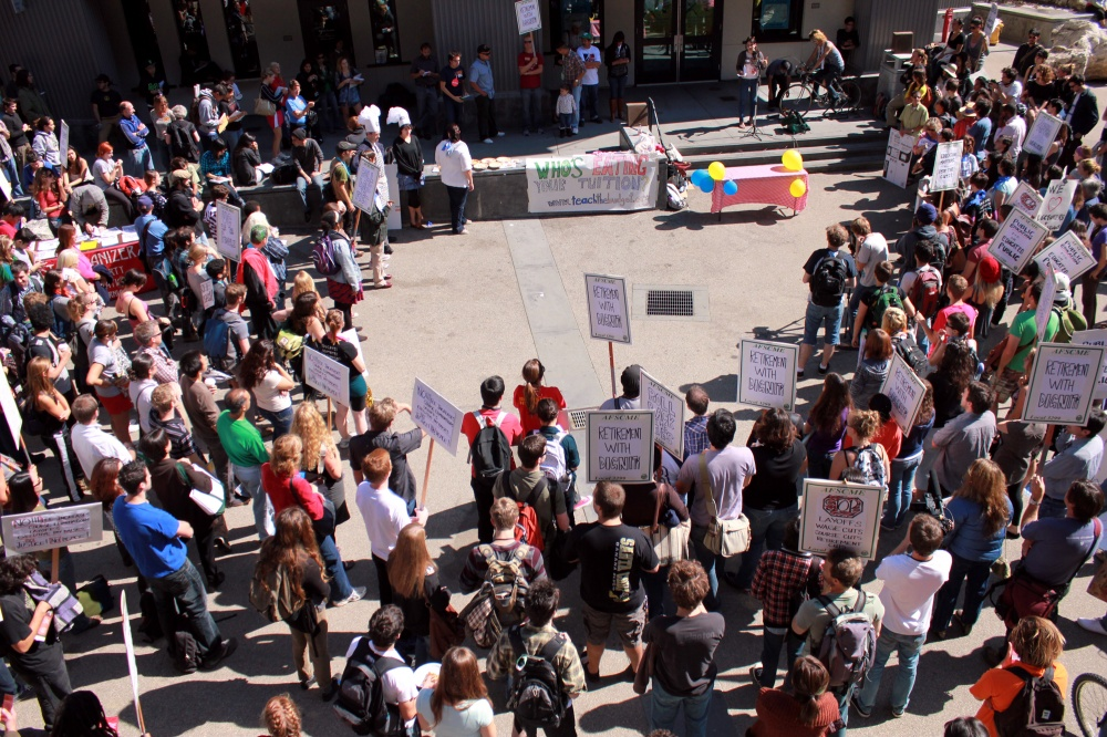 Students Rally on National Day of Action