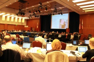 [Photo from the November 2010 regents meeting, taken Wednesday.]