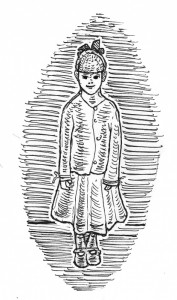 [Illustration of a ghost girl.]