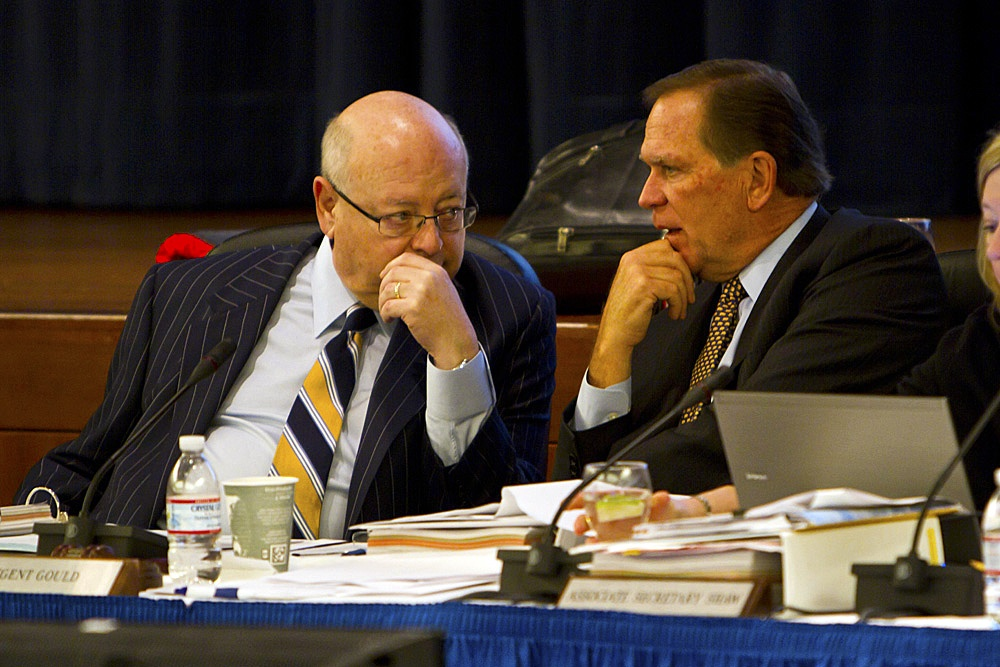 Upcoming Regents Meeting Canceled