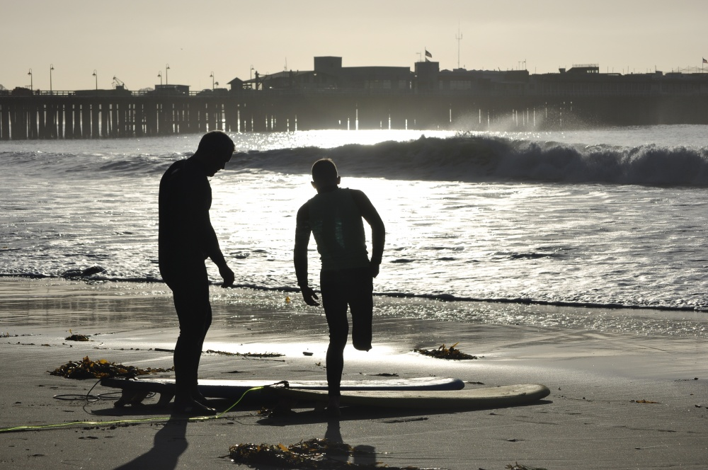 Wounded Service Members Take Santa Cruz by Surf