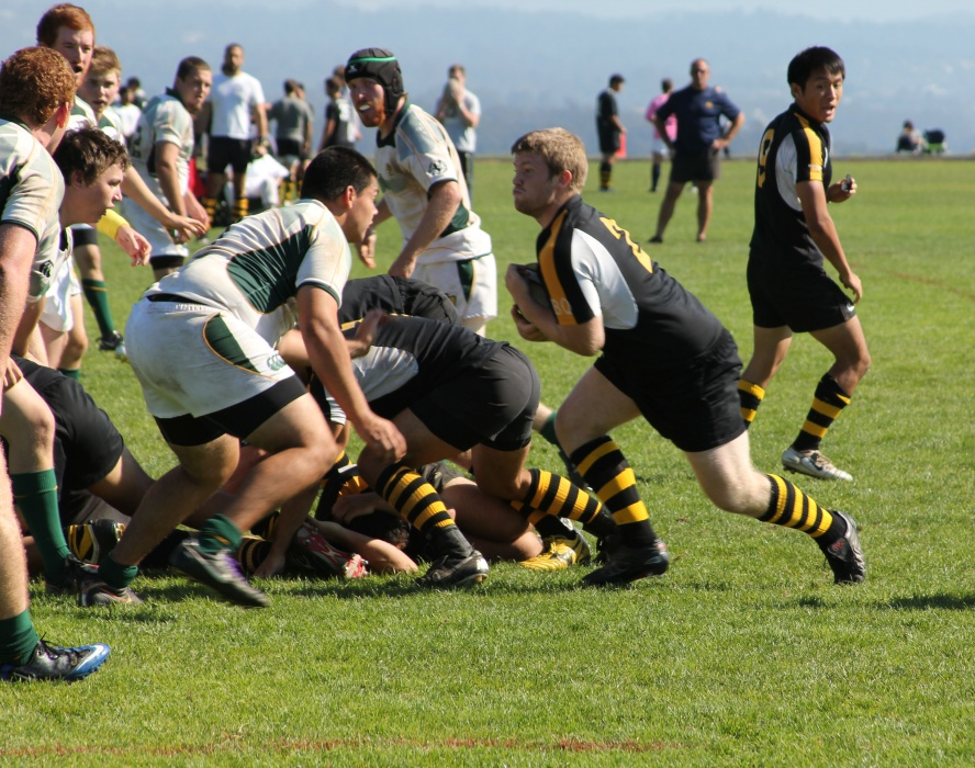 Rugby Tests Its Rookies