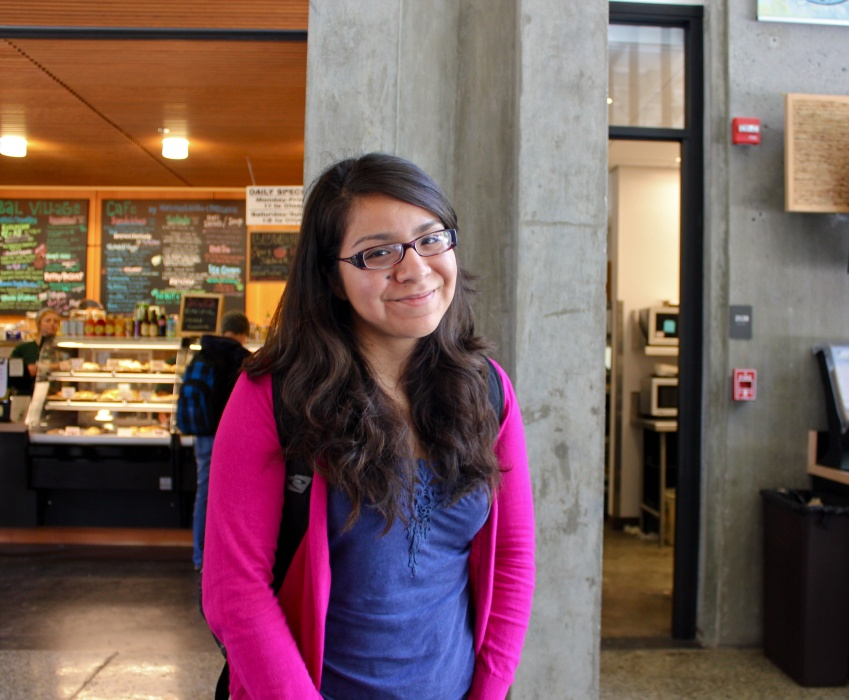 Maria Flores, Third-year, College Ten, Latin American and Latino studies: