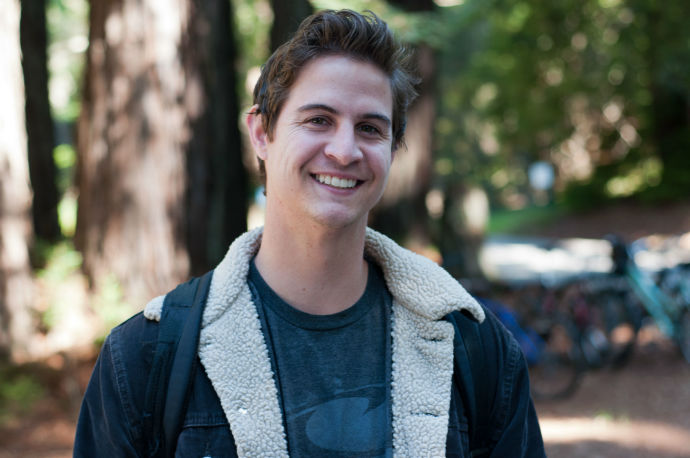 """""""Yeah, it taught [me] about contraceptives, as well as abstinence, and gave me the tools to [figure out] if you wanted to know either and the safety that was [involved]."""" Tom Gelinas Third-year, Kresge Environmental studies"""
