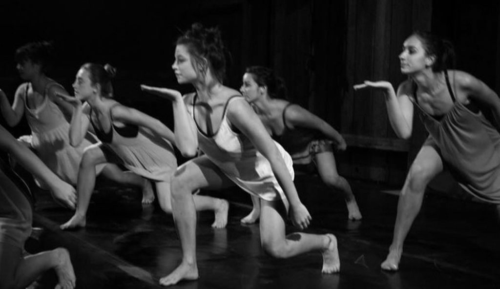 """Many dancers take part in choreographer Zoe Gallë's piece entitled """"Get Free,"""" including director Angela Chambers and Annalise Constantz. Photo courtesy of Steve Dibartolomeo."""