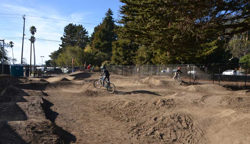 Bicycle Pump Track Rolls Into Westside
