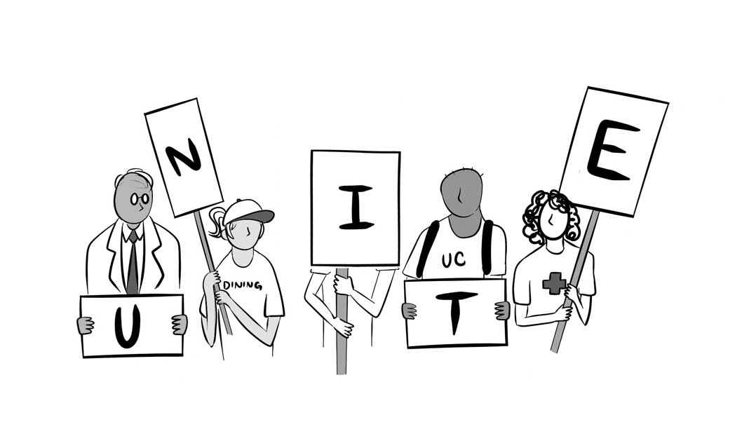 In Solidarity With All UC Workers