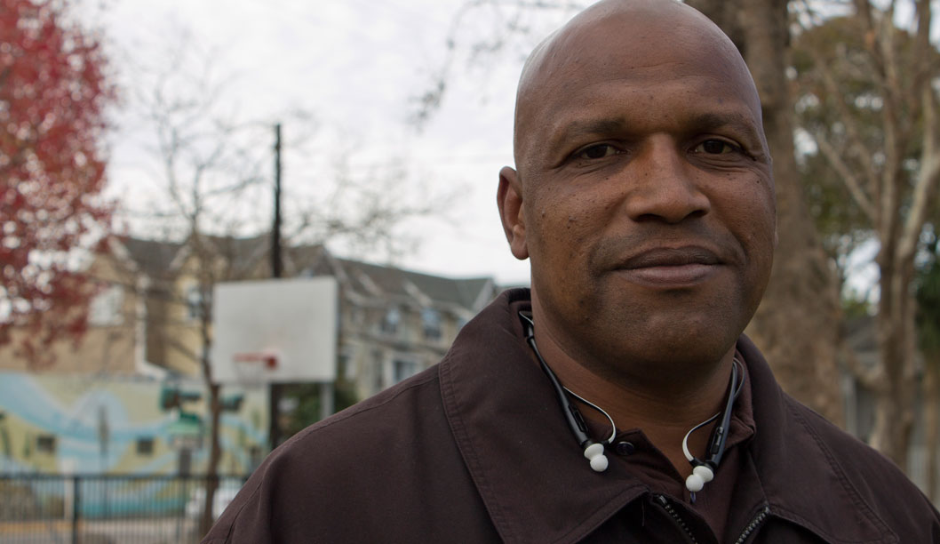 Willie Stokes began selling drugs at the age of 15, and after spending 17 non-consecutive years in prison, he decided to start his own non-profit organization, called the Black Sheep Redemption Program (BSRP). BSRP is dedicated to redirecting adolescents off the path of gang influence. Photo by Aimee Hare.
