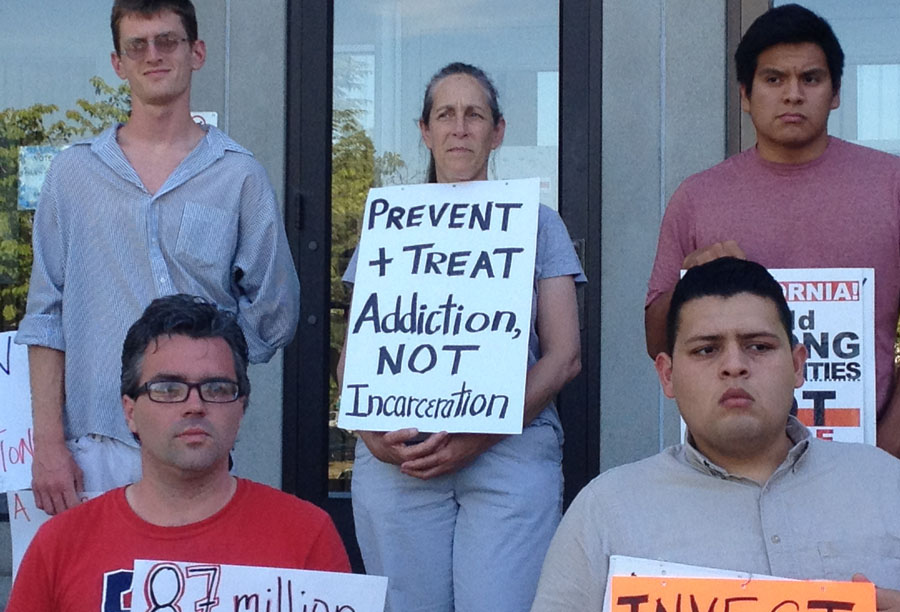 Protest Proposes Alternatives to Jail Expansion