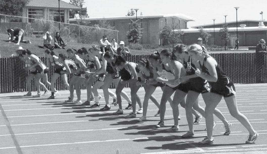 Women's Track and Field Team Makes Strides
