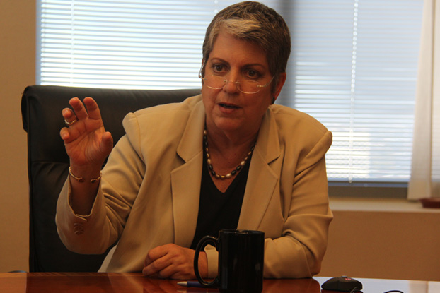 Napolitano: Assessing Tuition Increase 'Just the Arithmetic'