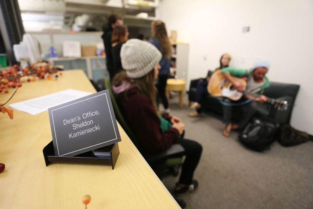 Students Occupy Humanities in Protest of Tuition Hike