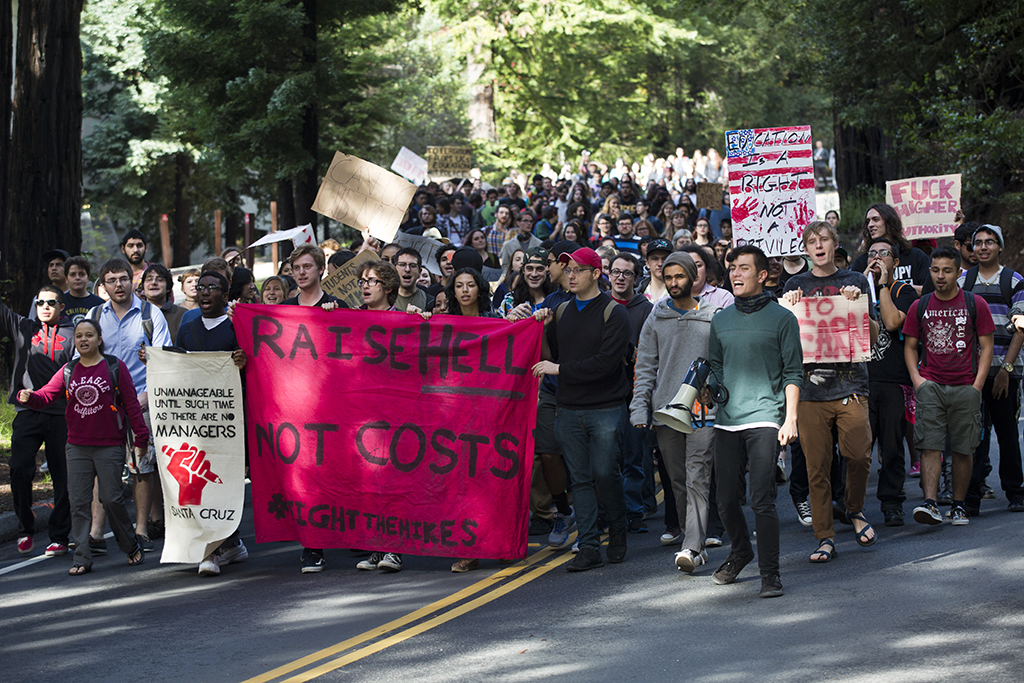 Protesters Continue Demonstrations Against Tuition Hike