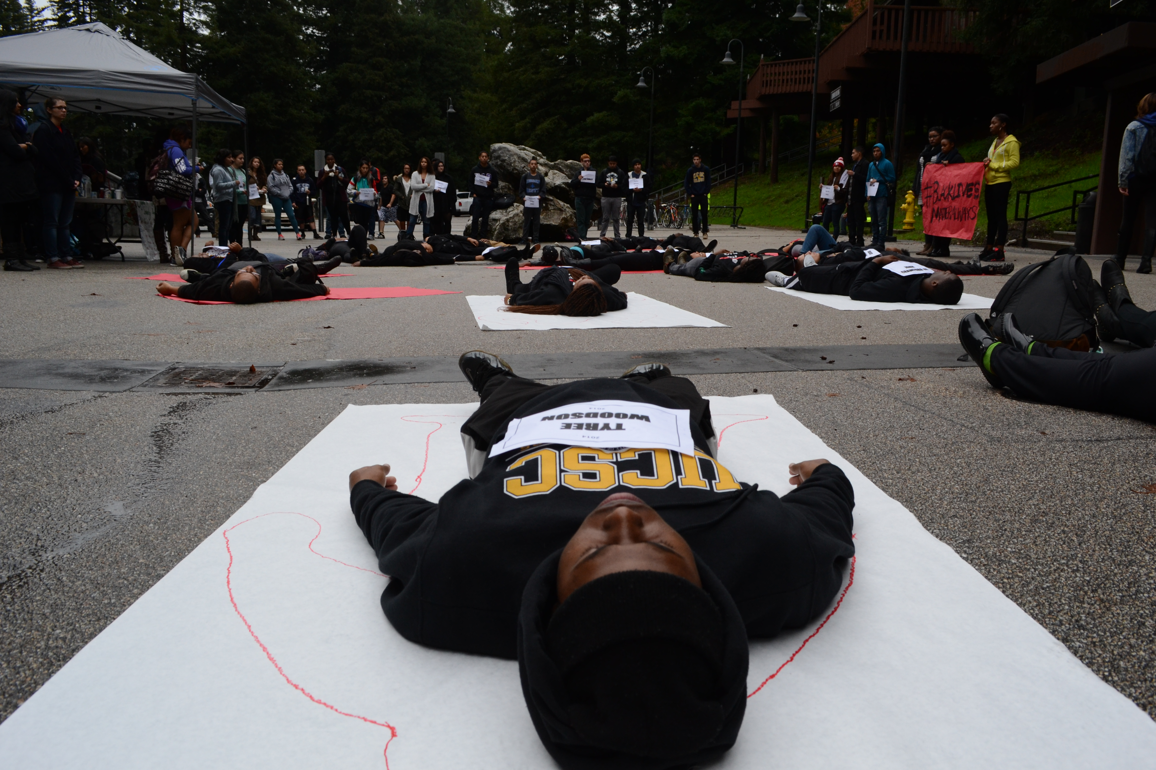 Black Students Protest Systematic Killings