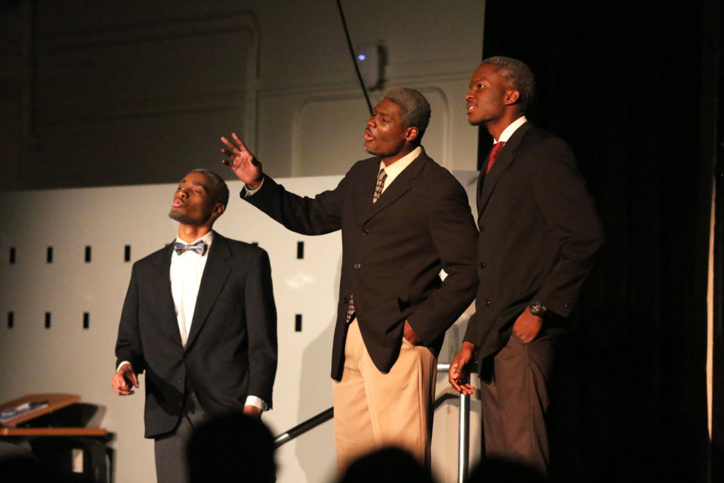 Joseph Evans, Justin Taylor and Chenna Ajelo reflect on their time in the war with the Tuskegee Airmen.
