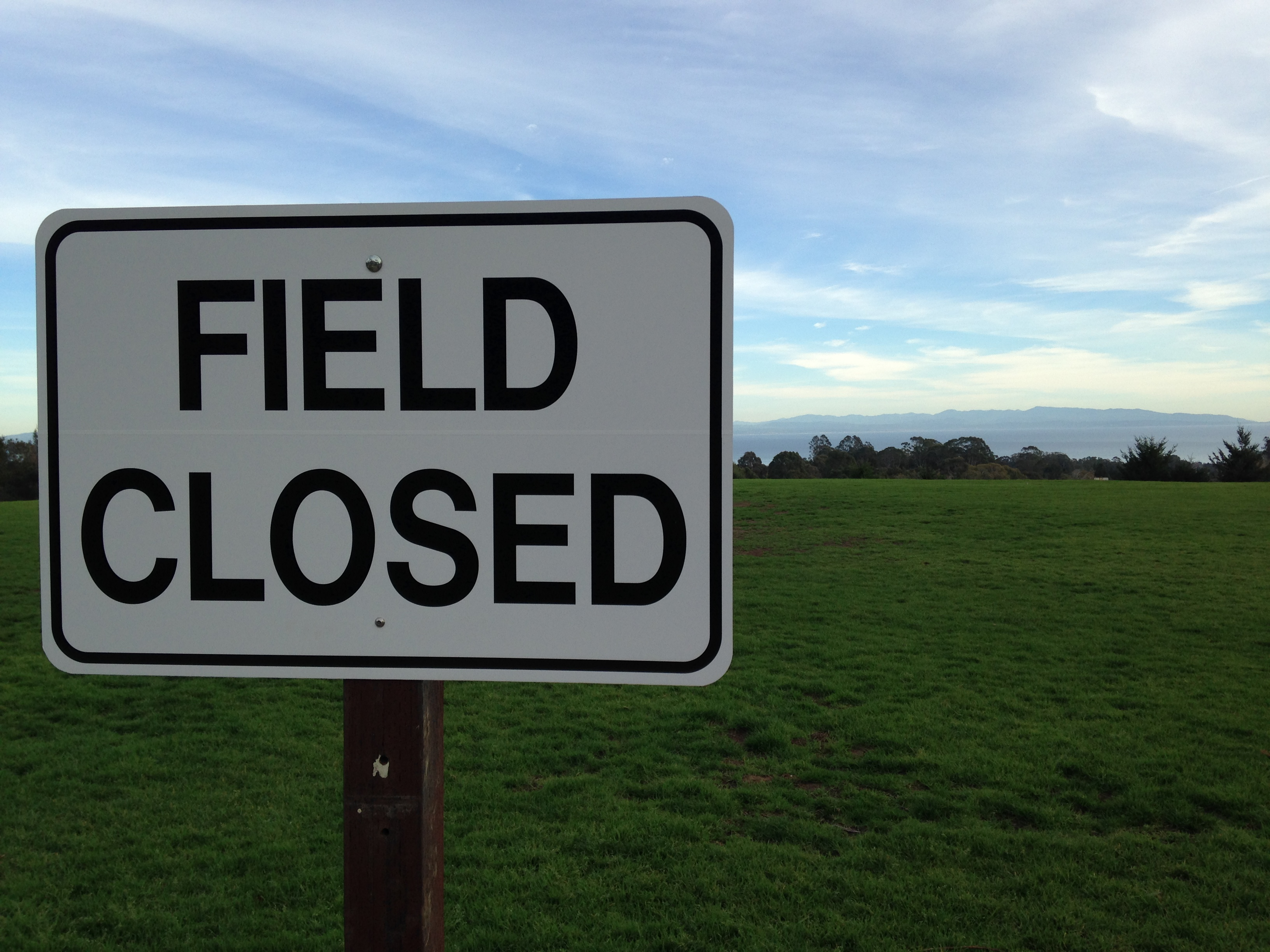 Upper East Field Tentatively Set to Open April 2