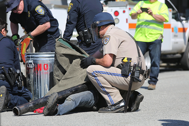 Update: Six Students Arrested During Protest on Highway 17