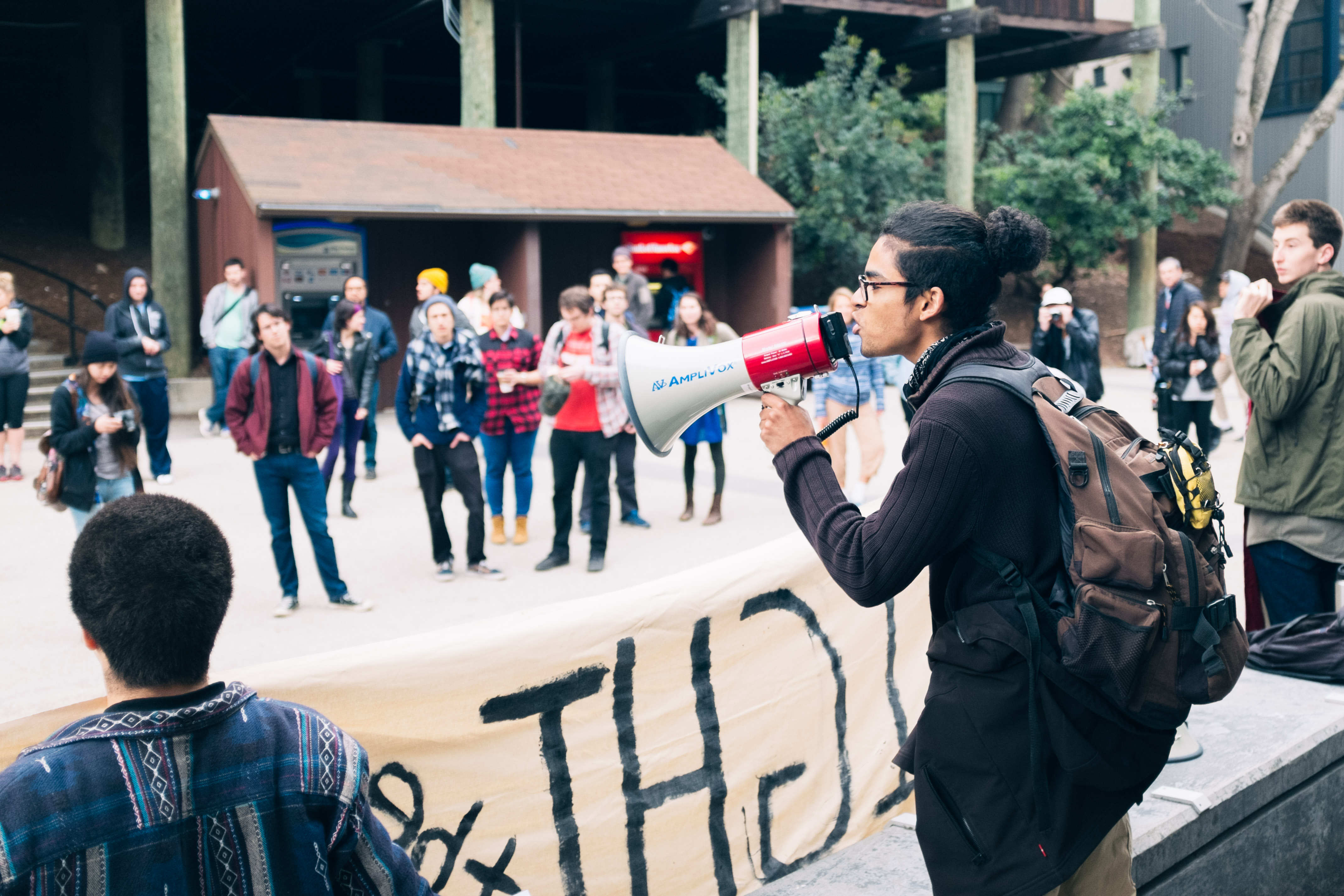"""Rally at Quarry Plaza kicks off """"96 Hours of Action"""""""