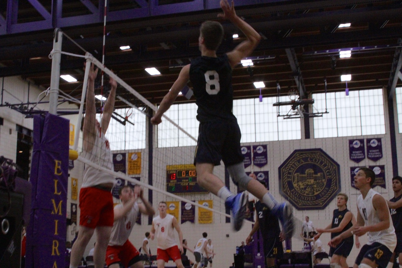 Men's Volleyball Sweeps New York