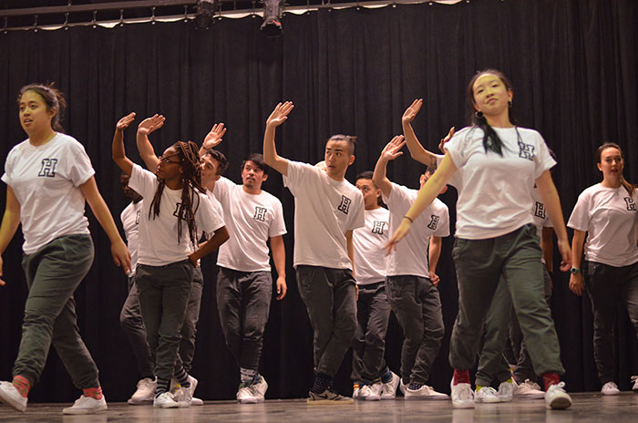 Haluan, a UCSC dance troupe, livens up the event with a hip-hop performance. Photos courtesy of Carmela Ontengco.