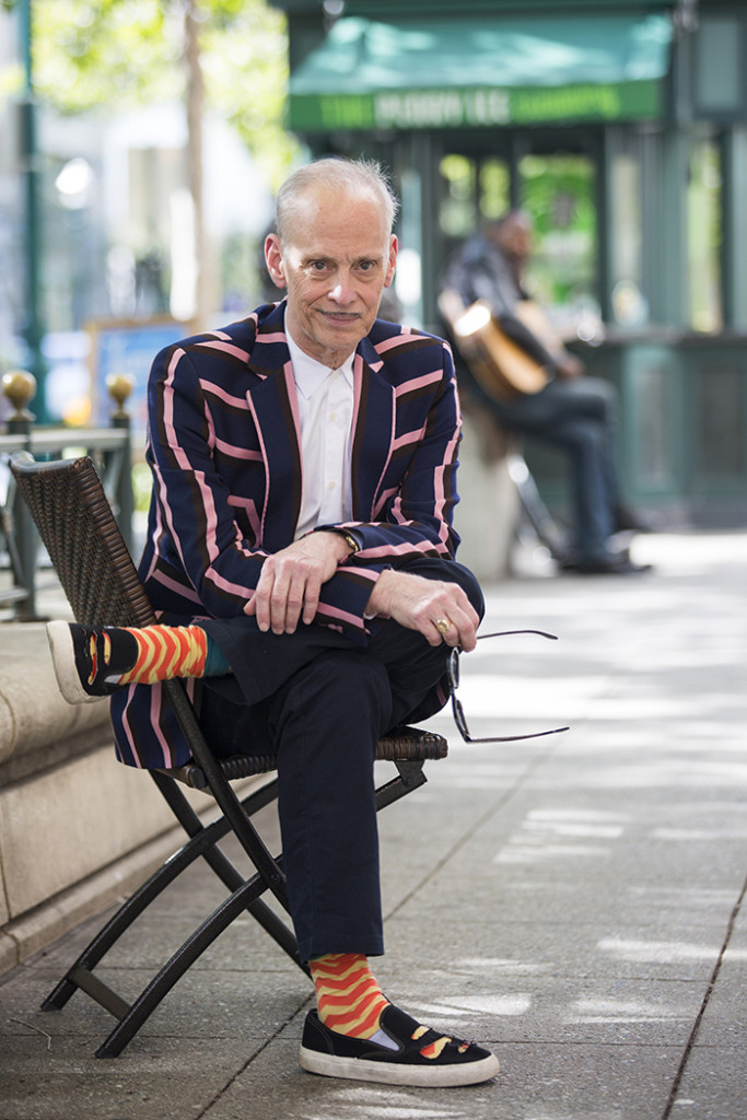 """Bookshop Santa Cruz partnered with The Nickelodeon Theaters to bring writer and director John Waters to the Del Mar on May 19 to promote his recent book """"Carsick: John Waters Hitchhikes Across America"""". Photo by Stephen De Ropp."""