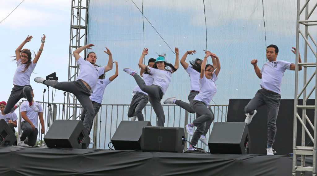 "Haluan performed at the 36th annual Multicultural Festival last Saturday. On May 23, the dance group will host ""En Route: Urban Dance Showcase."" Photo by Stephen De Ropp."