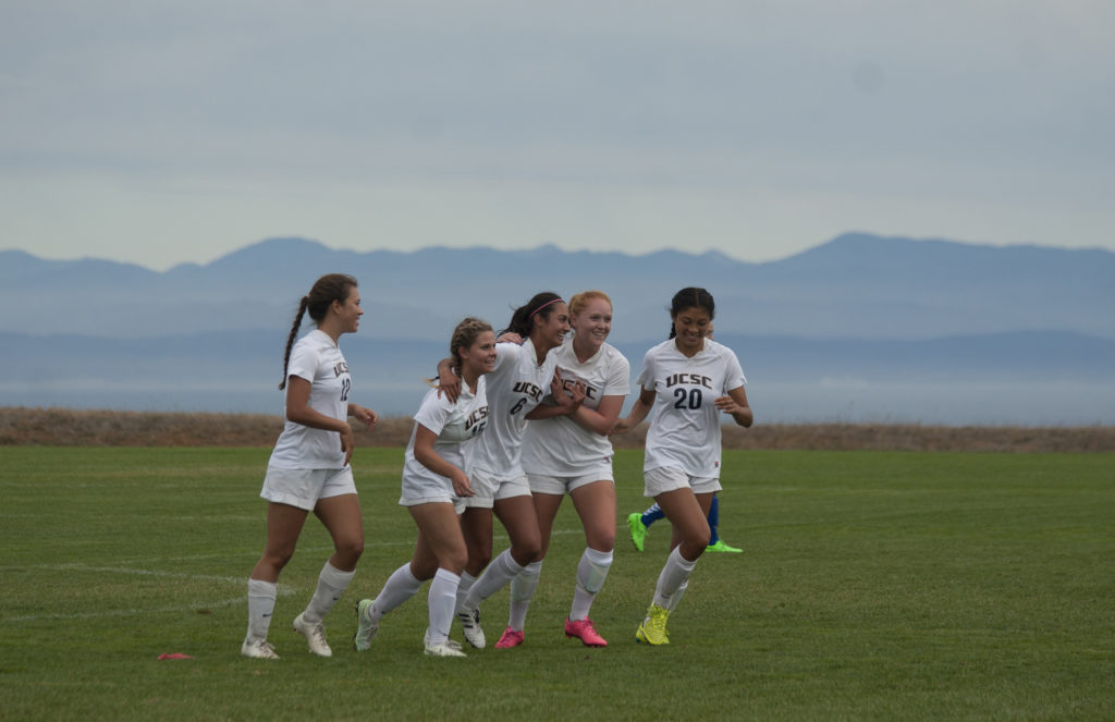 The Slugs battled to a 4-1 victory against the William Jessup Warriors in the last home game of the season. Photo by Ali Enright.