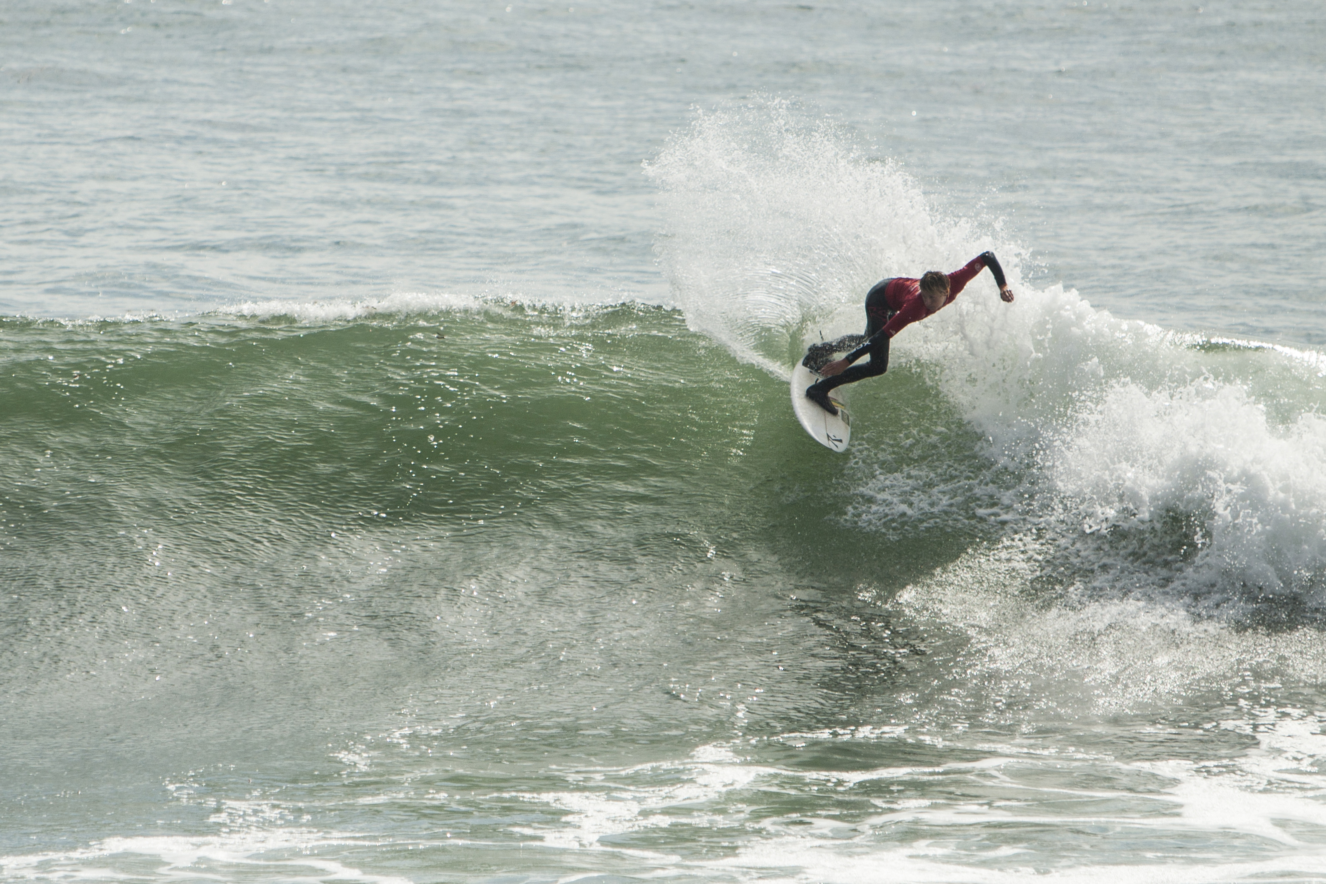 Shredding Steamer Lane
