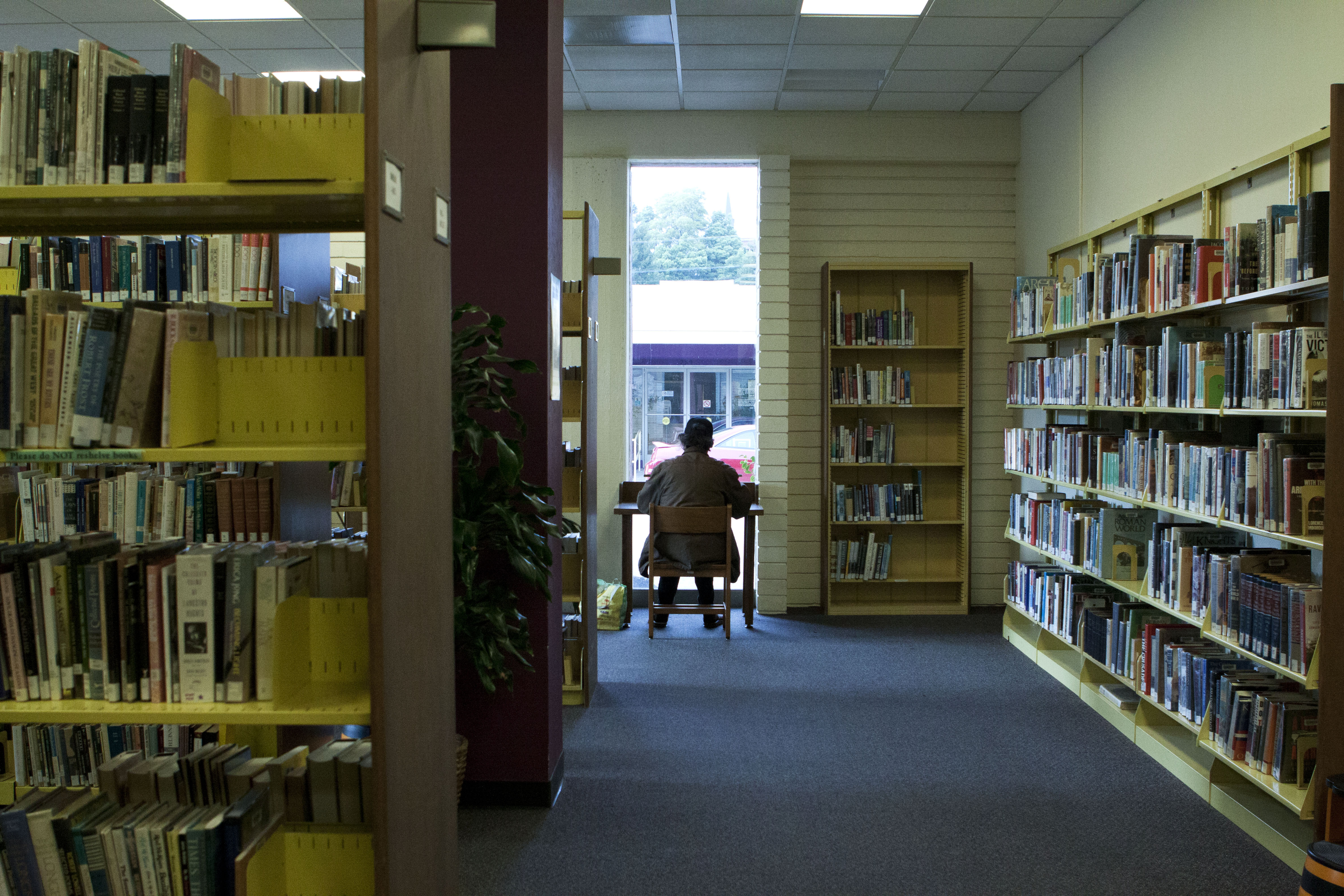 Library Funding Overdue