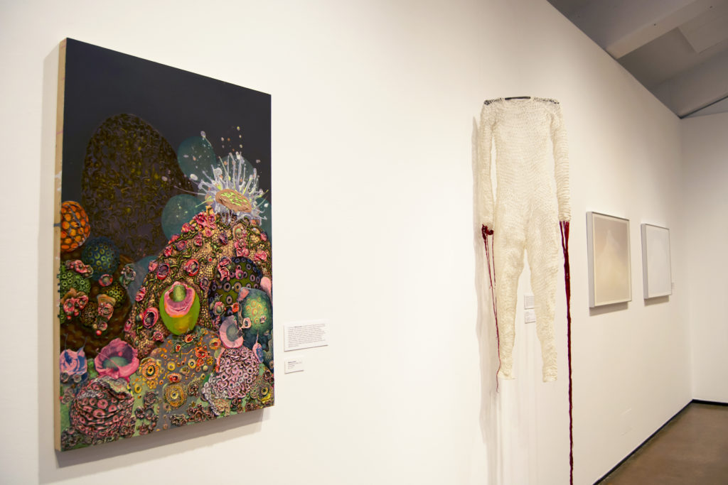 """At Porter College, students and members of the public can view """"In Conversation"""" at the Sesnon Gallery and ask themselves and the artists, """"Why?"""" Photo by Megan Schnabel"""