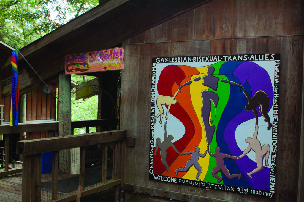 UCSC Cantú Queer Center. Photo by Ali Enright.