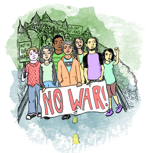 Standing Against the Gulf War