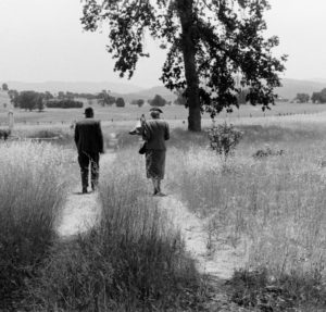 Pirkle Jones: Last Memorial Day, Monticello, Berryessa Valley, 1956. Photo courtesy of UC Santa Cruz Special Collections