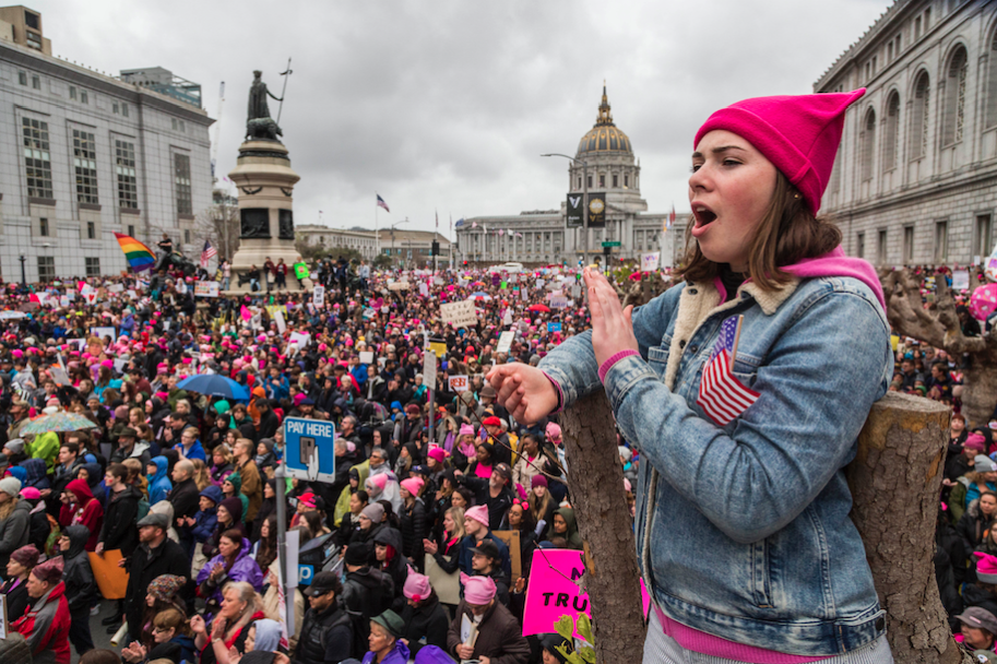 Women's March on the Nation