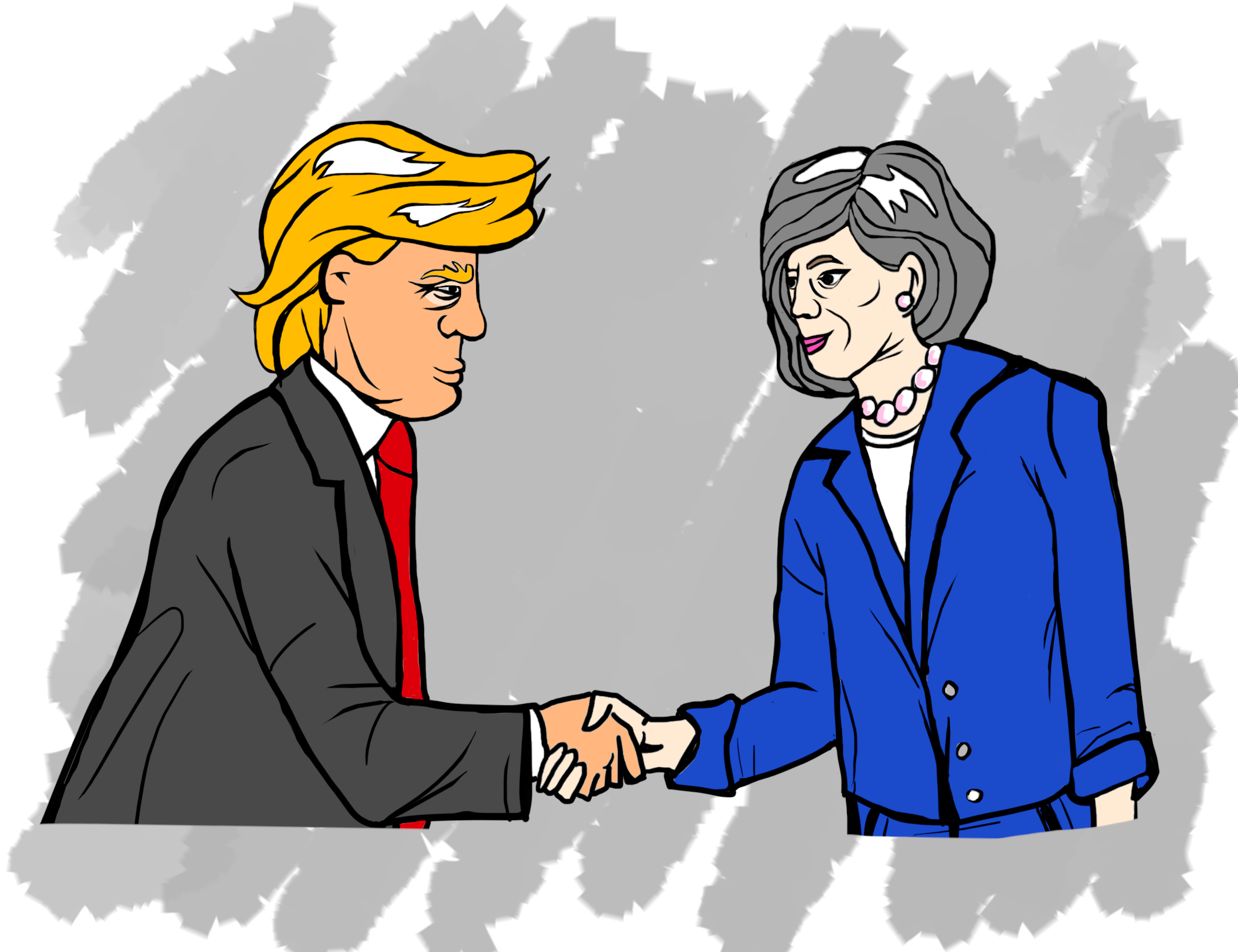 Theresa the Appeaser's New Friend