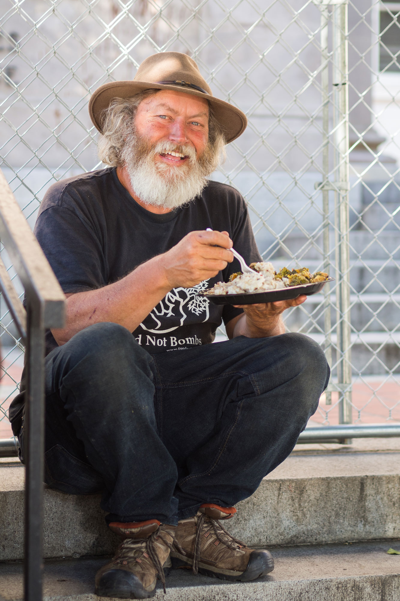 Looking Back at Food Not Bombs