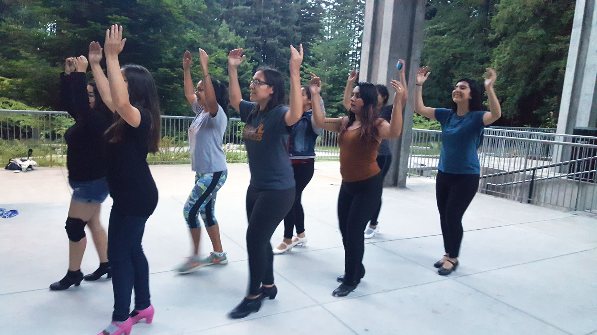 Using Campus as a Dance Studio
