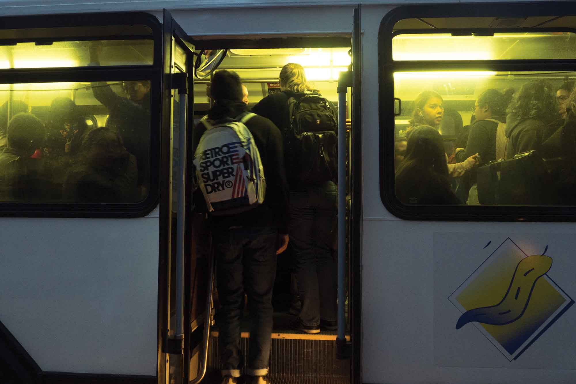 Student Commuters Burdened by Overcrowding