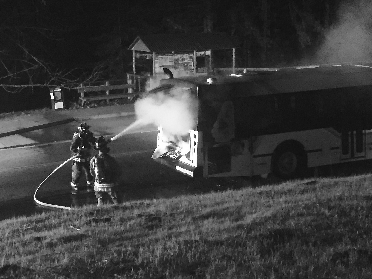 Two SCMTD Bus Fires in Nine Days, No Injuries