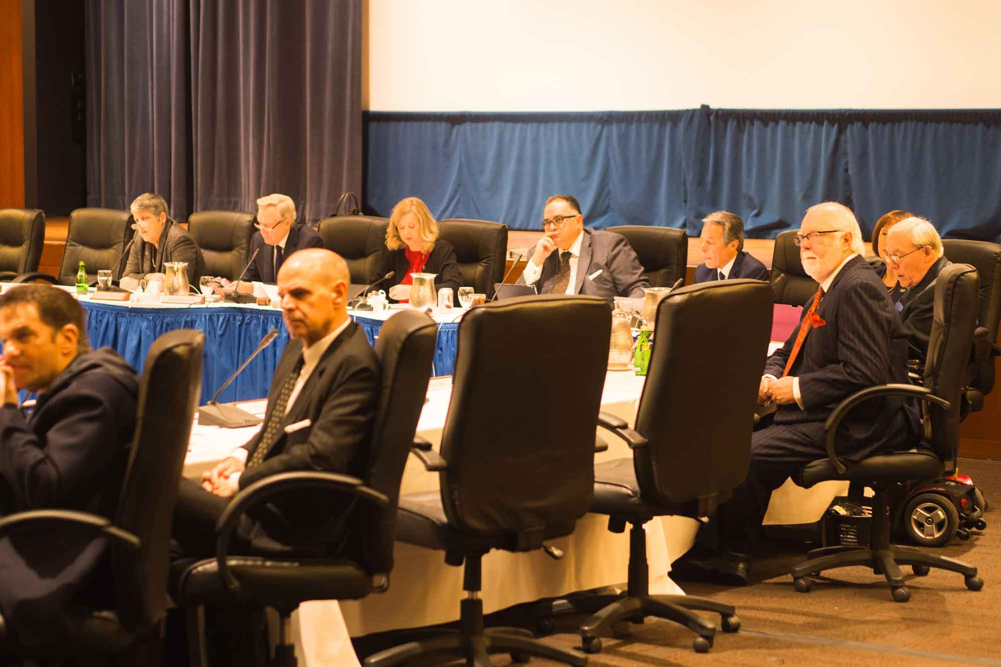 Regents Table Tuition Increase