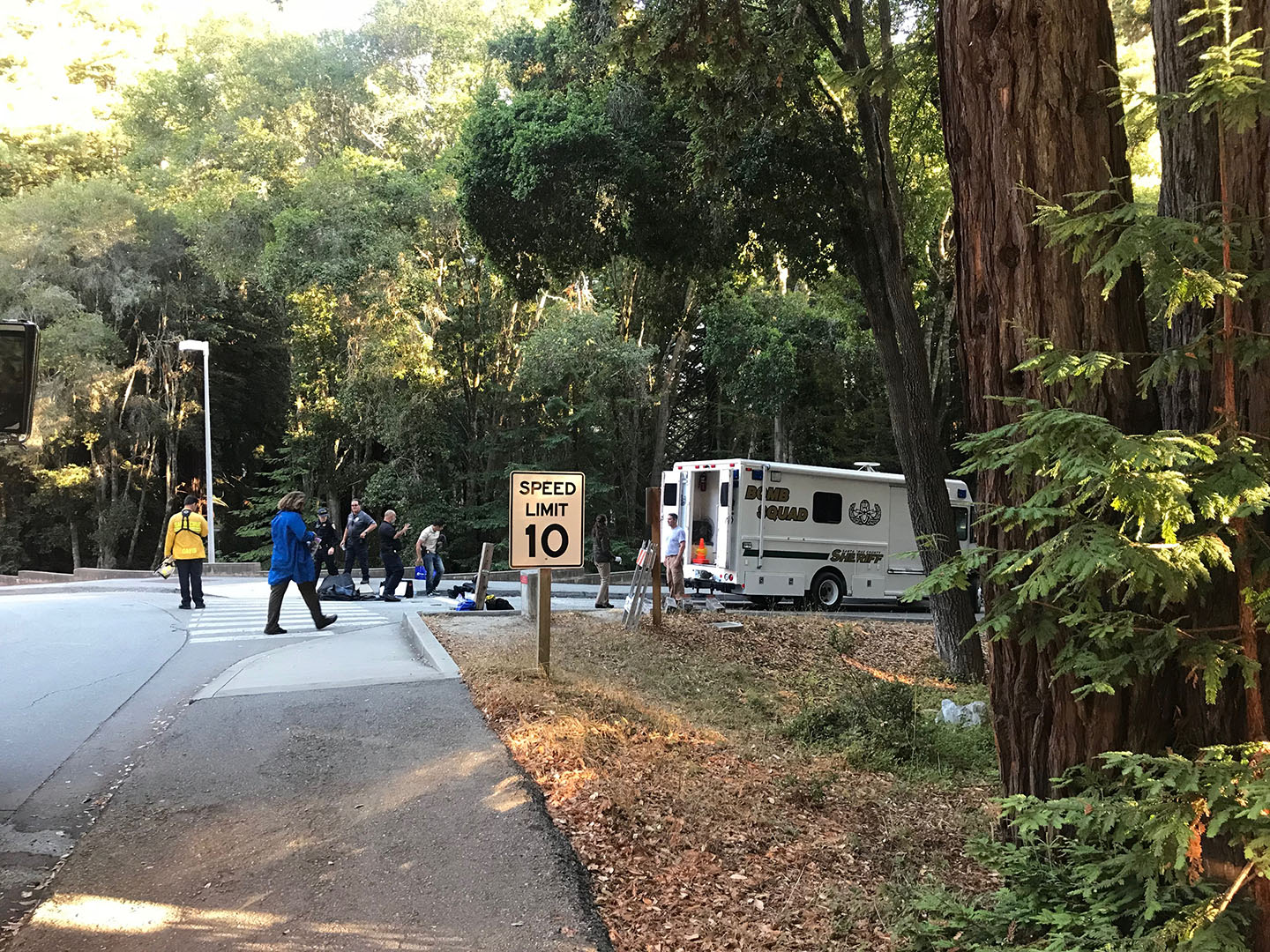 Bomb Squad Called for Controlled Detonation