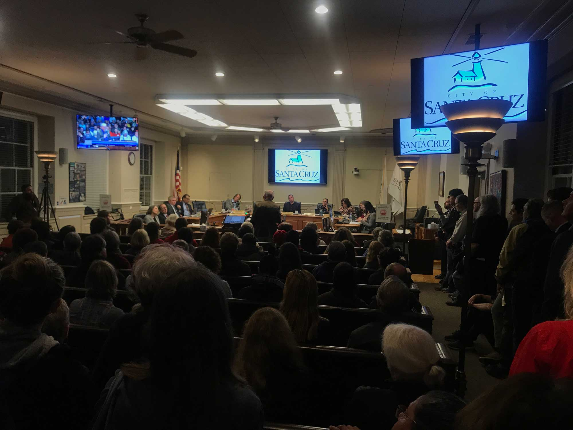 Renters and Landlords Clash at City Council Meeting