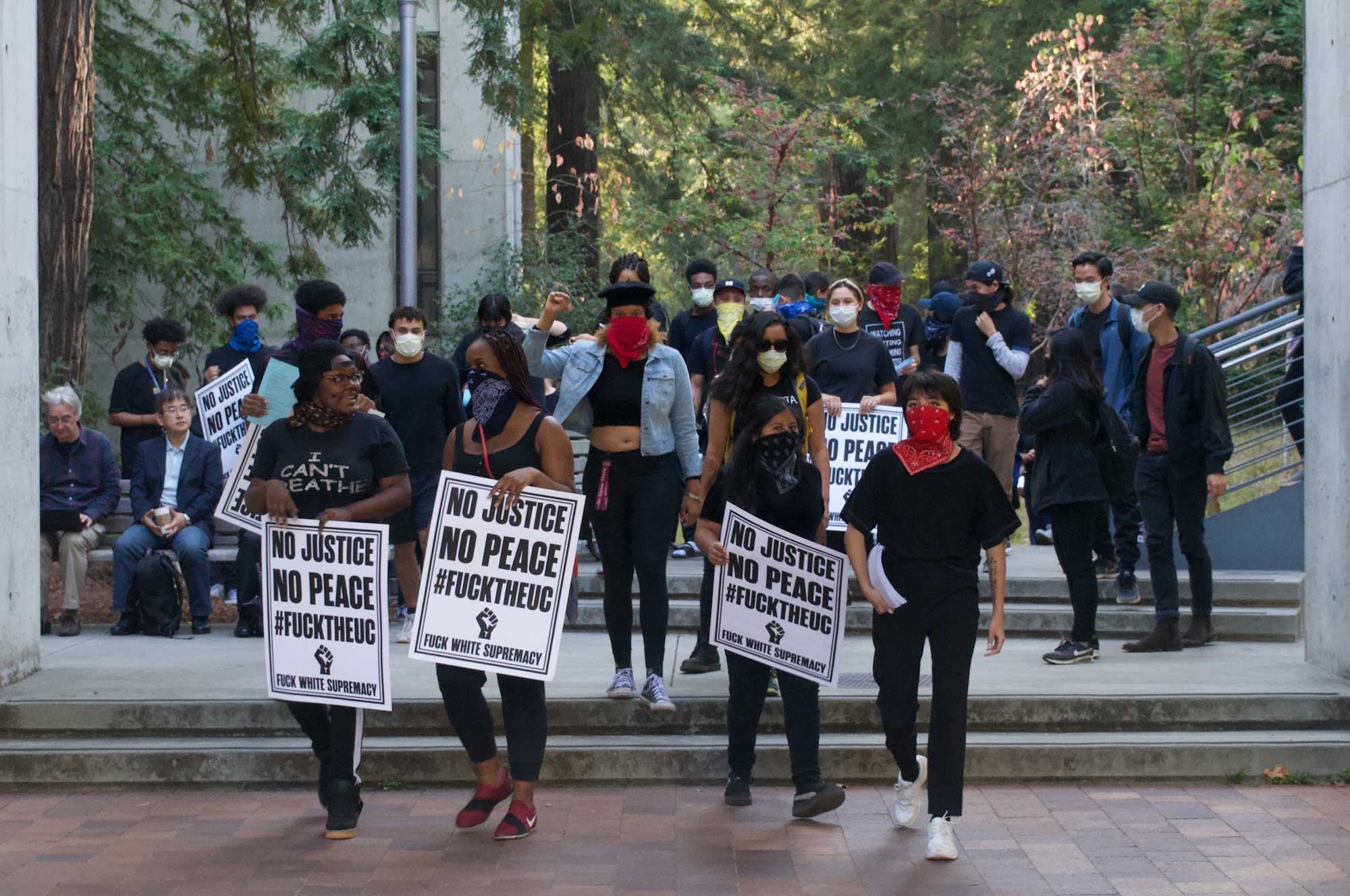 Student Activists Halt Chancellor Search Committee Meeting