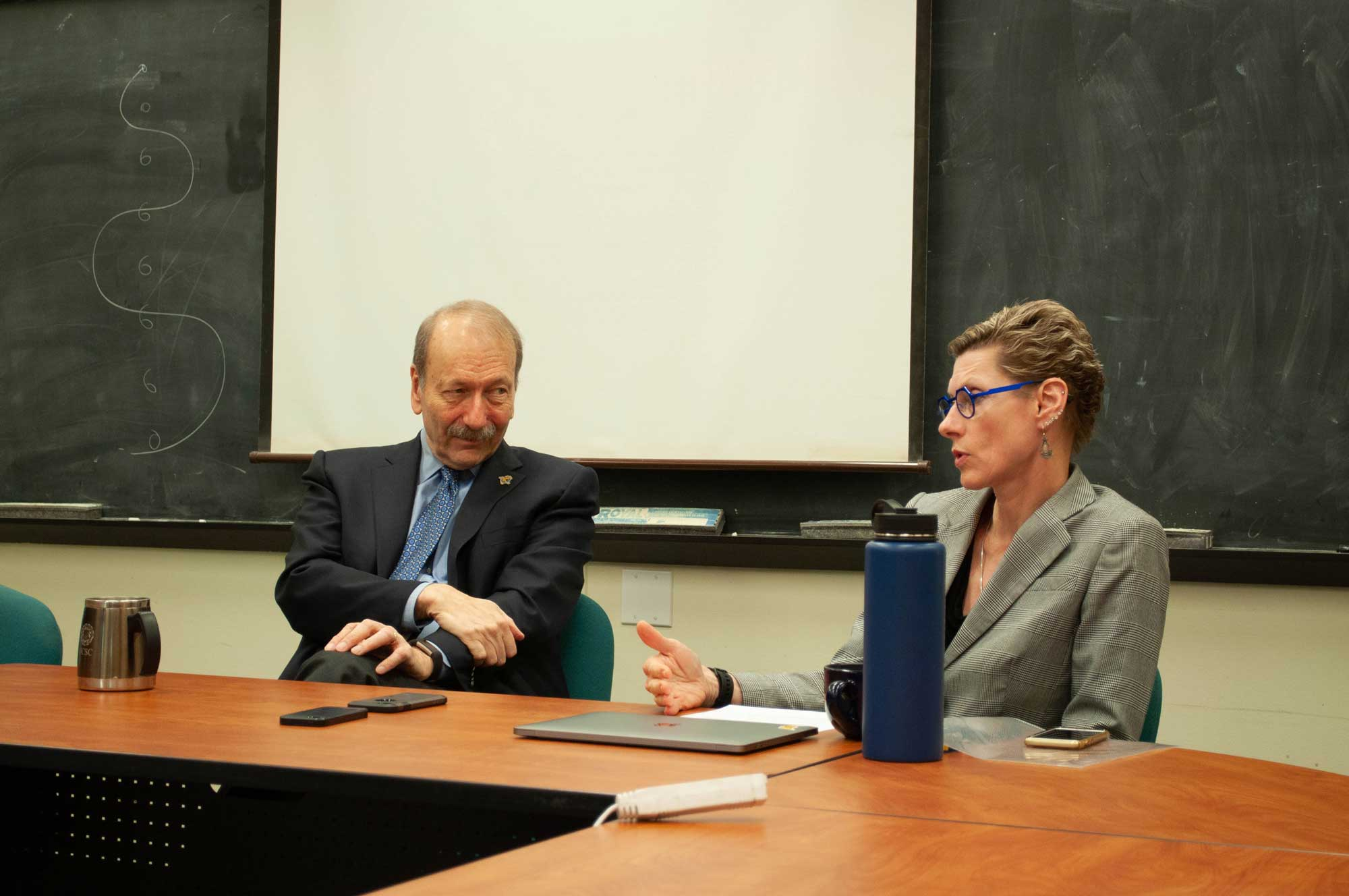 Q&A with Blumenthal and Tromp