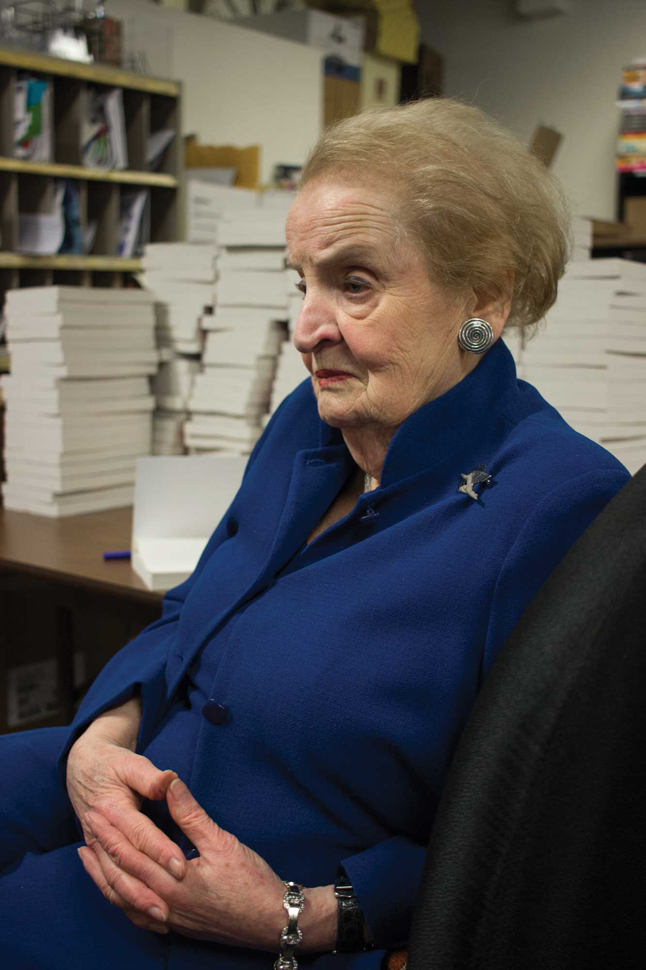 Madeleine Albright Explores Clash of Fascism and Democracy