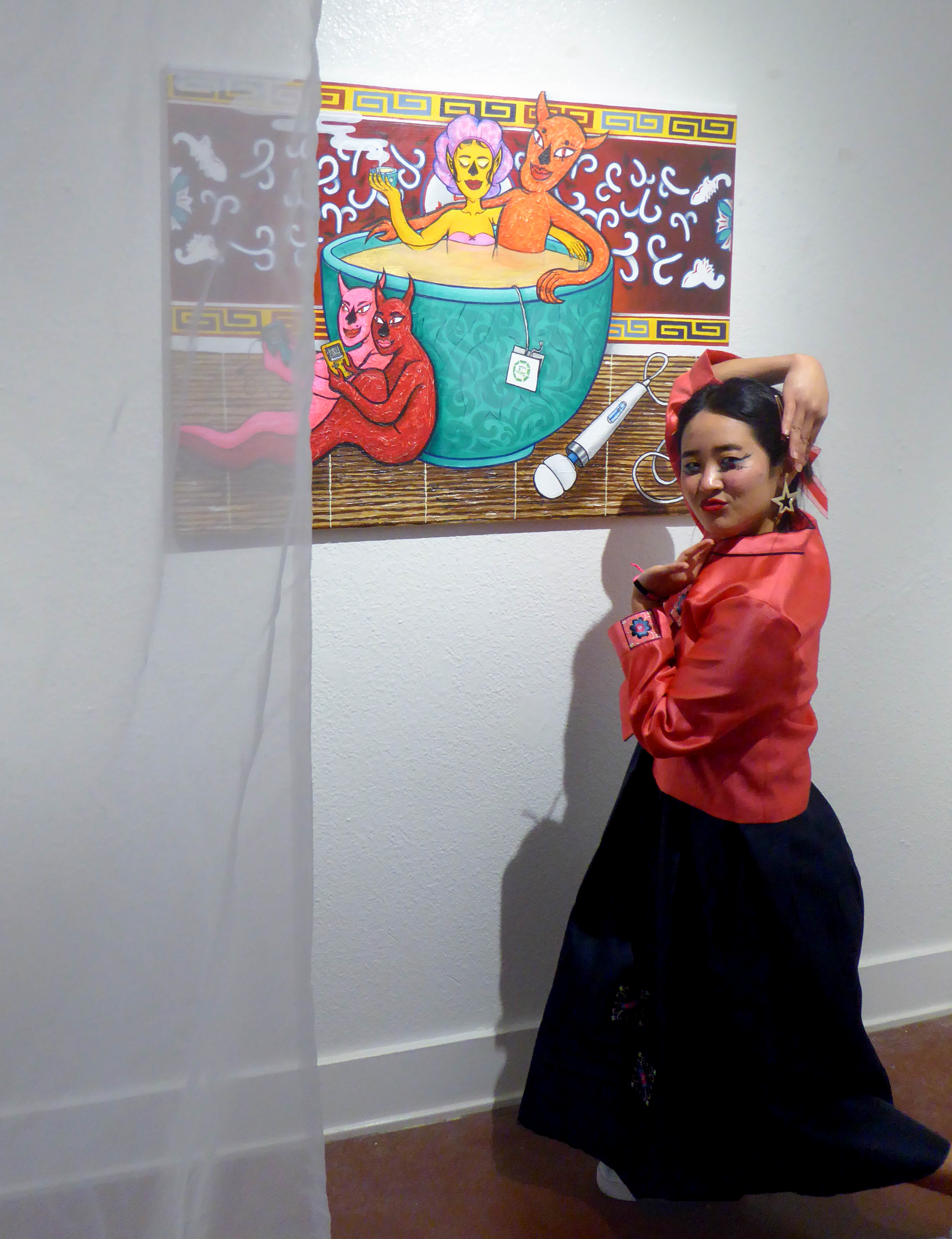'Memoirs of a Banana Girl': A Conversation with artist Lizzy Choi