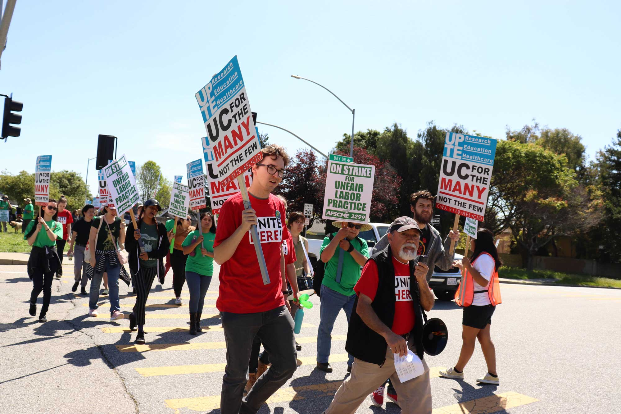 AFSCME 3299 Strikes for Labor Rights