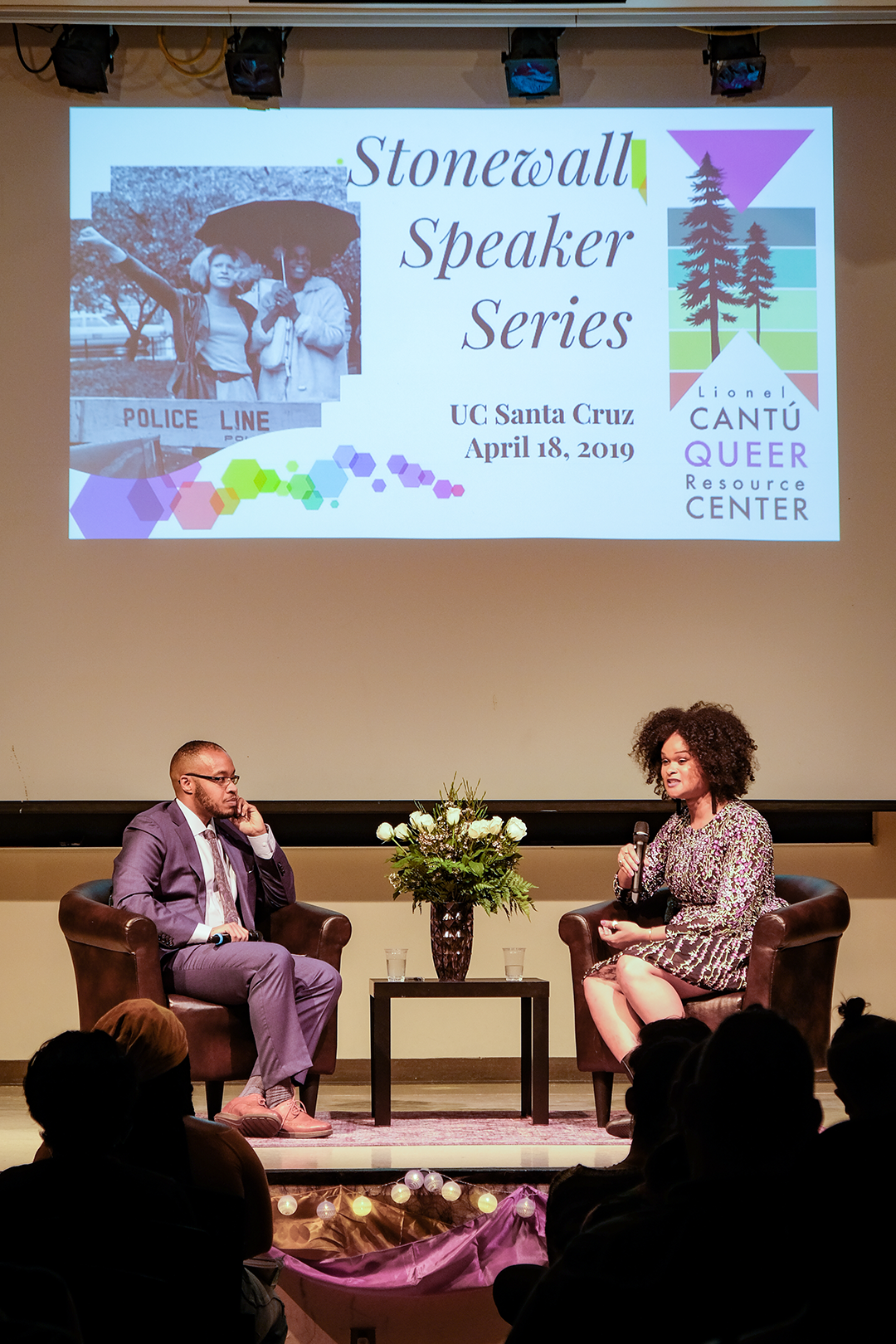 Cantú's Inaugural Stonewall  Talk Hosts Raquel Willis