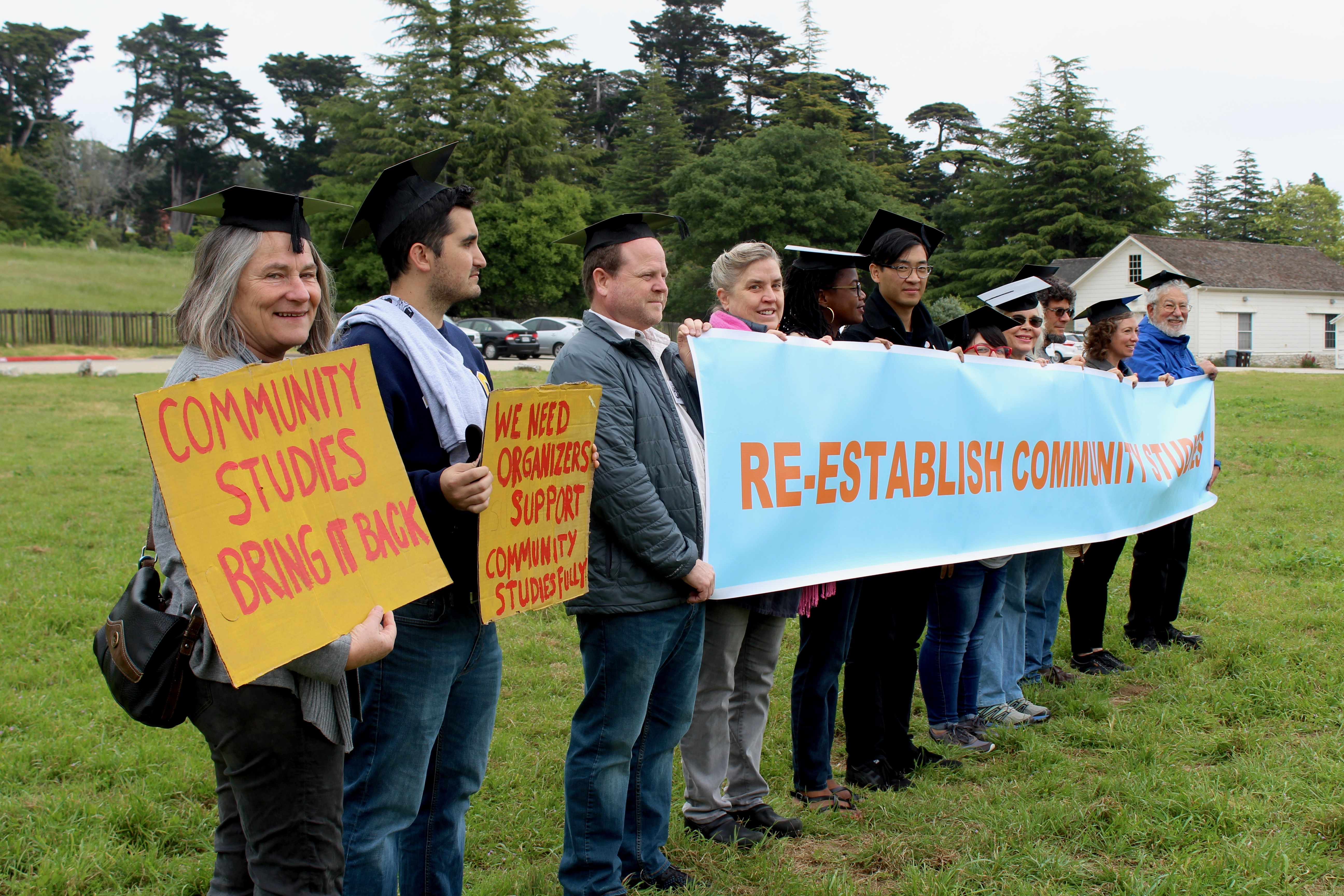 Community Studies Program Protests for Recognition