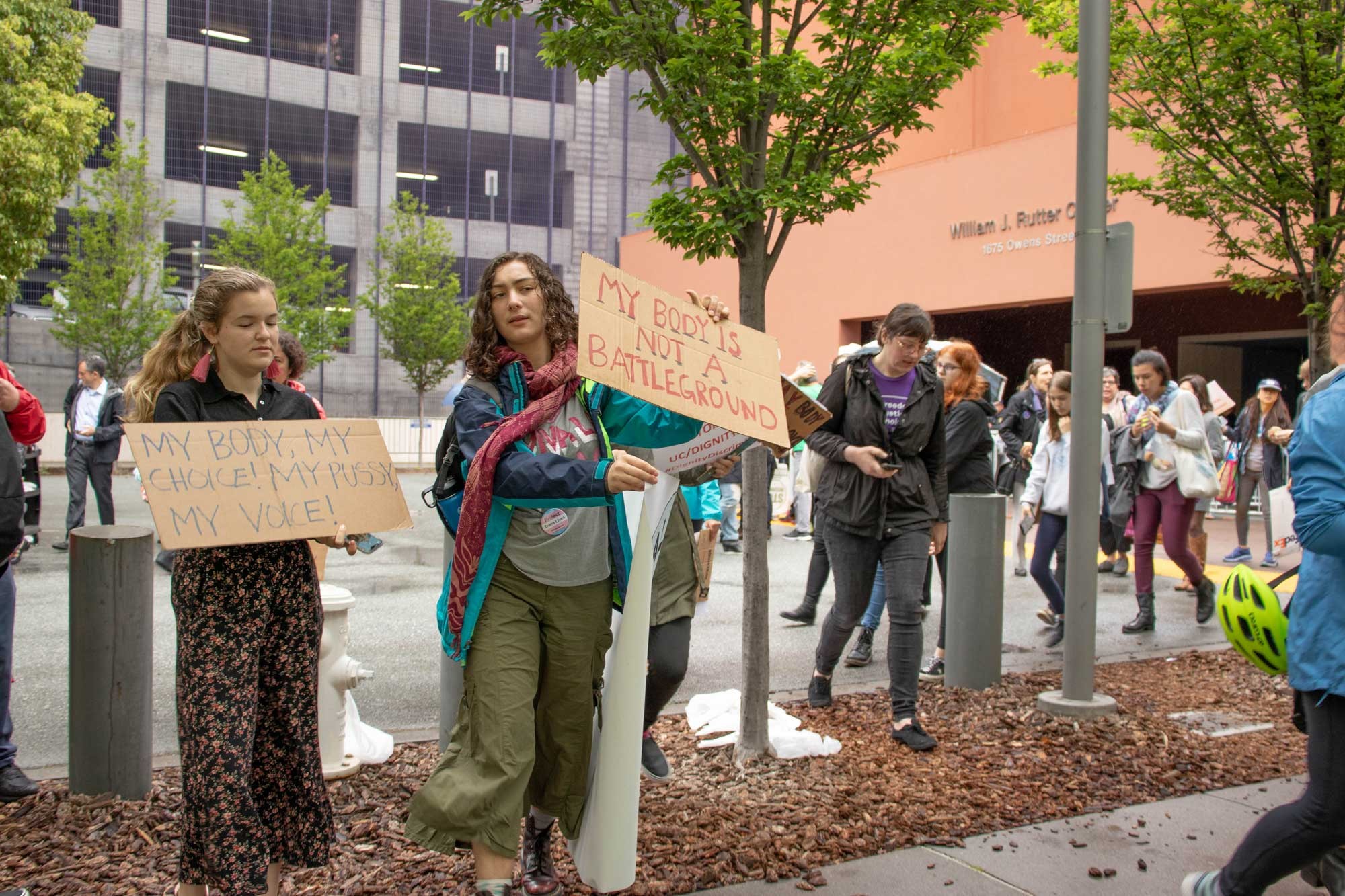 Students and Workers Protest  Dignity Health